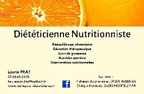 PRAT LAURIE DIETETICIENNE NUTRITIONNISTE Aubenas