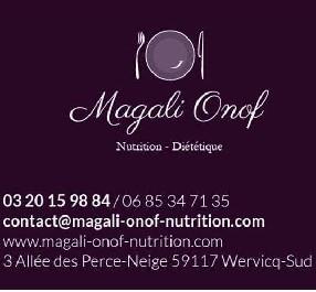logo Magali Onof - Diététicienne Nutritionniste