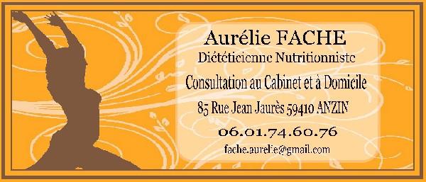 Aurélie FACHE - Diététicienne Nutritionniste Anzin